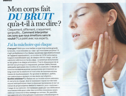 """""""J'ai la mâchoire qui claque"""" – Interview Version Fémina"""